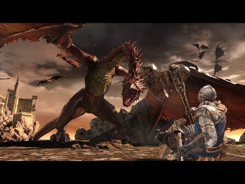DARK SOULS TRILOGY - Announcement Trailer   PS4, X1