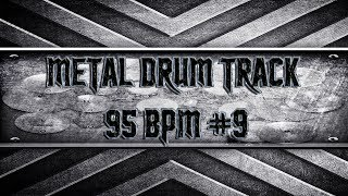 Slow Double Bass Extravaganza Metal Drum Track 95 BPM (HD,HD)