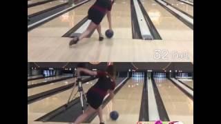 Bowling Patterns Visualized 52' vs. 32'