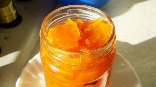 Смотреть онлайн Копеечное варенье из моркови и апельсина