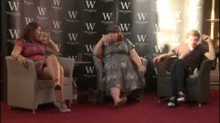 Cassandra Clare And Jamie Campbell Bower Talk To 500 UK Shadowhunters