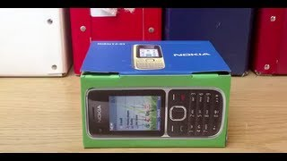 Nokia C2-01 Mobile Phone Unboxing