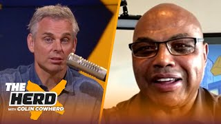 Charles Barkley says Anthony Davis is key for Lakers Championship, talks Clippers & Zion | THE HERD