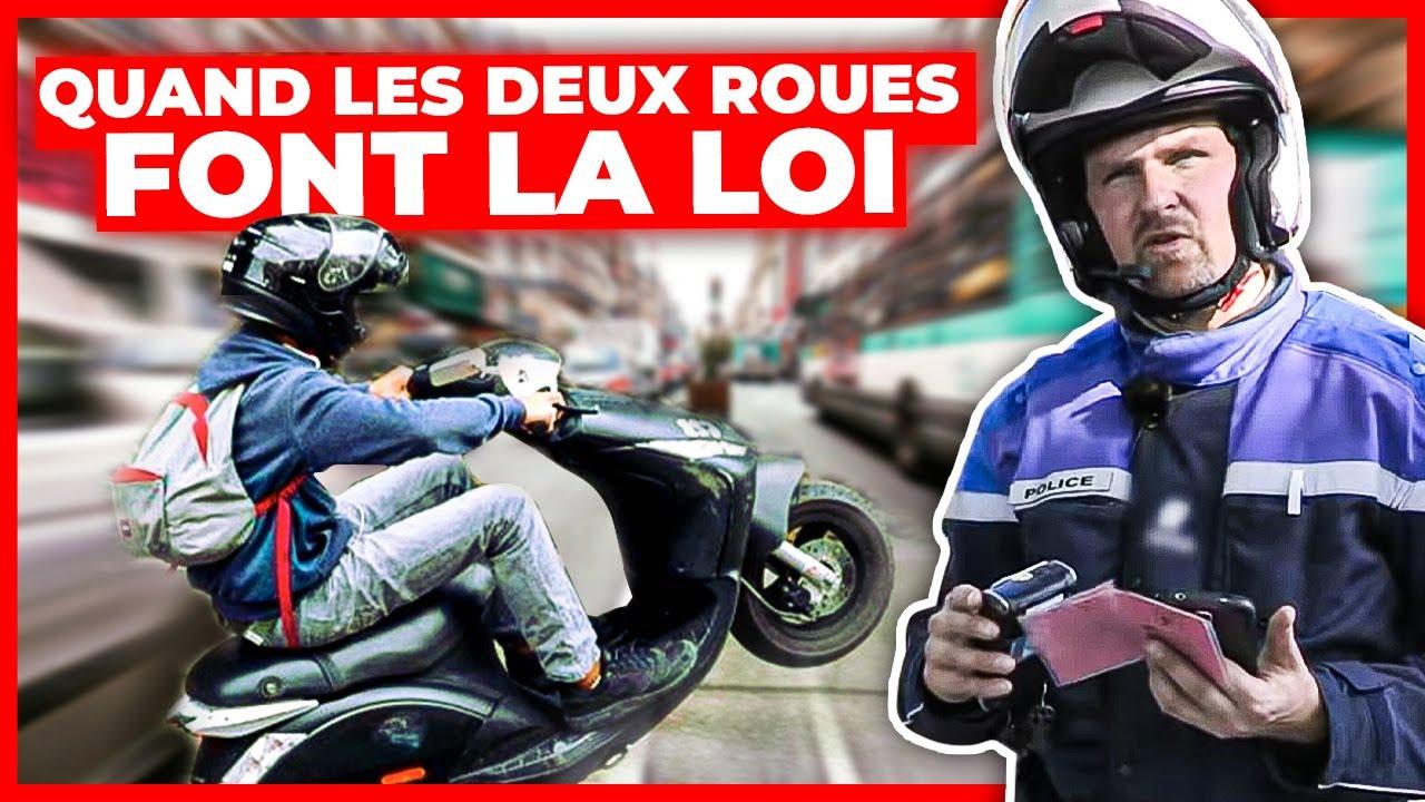 Deux roues à Paris : la police en embuscade !