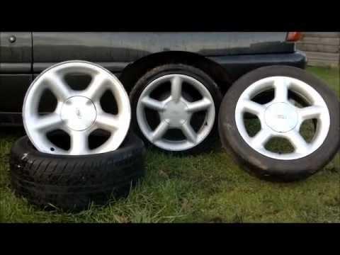 Escort Cosworth Vs Escort GTi Vs Mondeo Ghia Ford Alloy wheels