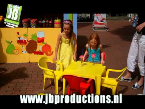 Tropical Kids Bar onderdeel van Tropical Kids Party | JB Productions