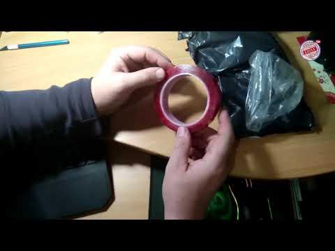 Двусторонняя клейкая лента / Маска для лица / Инклинометр с подсветкой