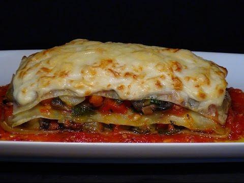 Receta Lasaña de verduras y queso - Recetas de cocina, paso a paso, tutorial