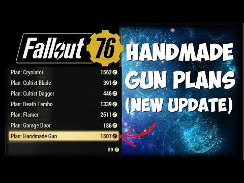 Fallout 76 - Handmade Rifle Schematics [RARE WEAPON GUIDE