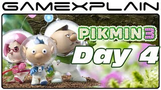 Pikmin 3 - Captain's Log: Day 4 -  An Important Call (Video Preview)