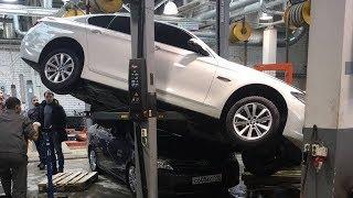 Подборка ЖЕСТЬ на СТО №5 / Fun in auto repair shop!