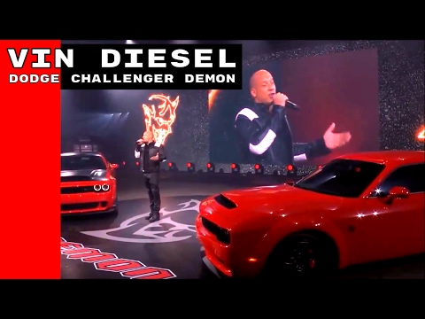 "Vin Diesel hết lời ""ca ngợi"" Dodge Demon tại New York Auto Show 2017"