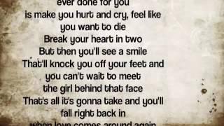 George Strait   When Love Comes Around Again Lyrics