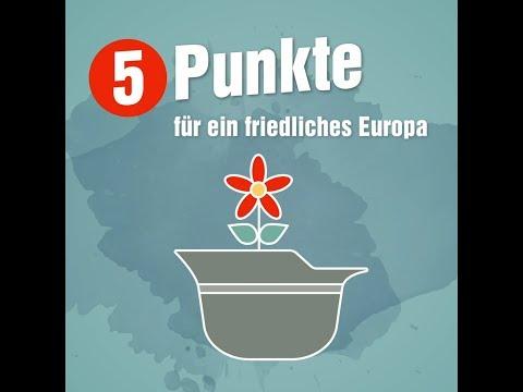 Kurz erklärt: Fünf Punkte für ein friedliches Europa