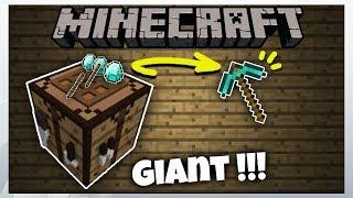 9️⃣ Giant Working Crafting Table / Bàn Chế Tạo Khổng Lồ || Minecraft Pe