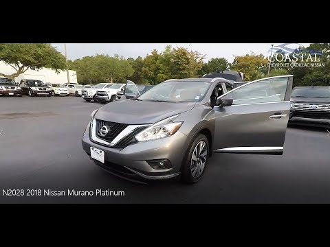 Pre-Owned 2018 Nissan Murano AWD Platinum