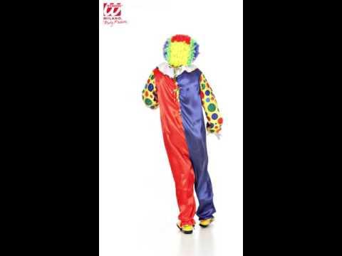 Clowns Overall Herrenkostüm