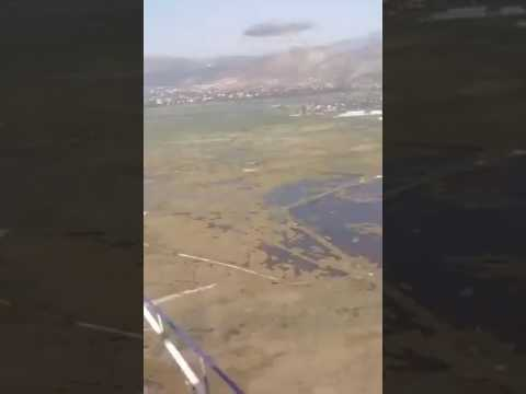 Η στιγμή της πτώσης του ελικοπτέρου στο Σχοινιά