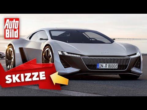 Audi R8 (2022): Skizze - Neuvorstellung - Antrieb - Hybrid - Elektro - Infos