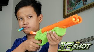 NERF VS XSHOT BATTLE