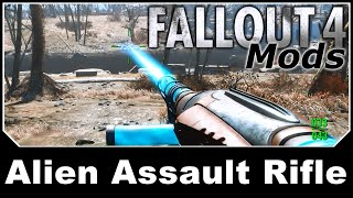 Fallout 4 Mod Review 51 - TOXIC RAIDER ARMOUR and FIRELANCE