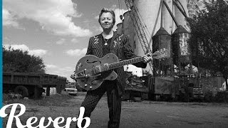 """Brian Setzer """"Hot Rod Girl"""" Solo Riff on Guitar 