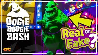 Oogie Boogie Bash - MEET AND GREET! Disney's NEW Halloween Party at DCA!