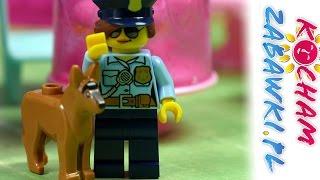 Kradzież w kawiarence - Lego City Policja & Shopkins Happy Places - Bajki dla dzieci