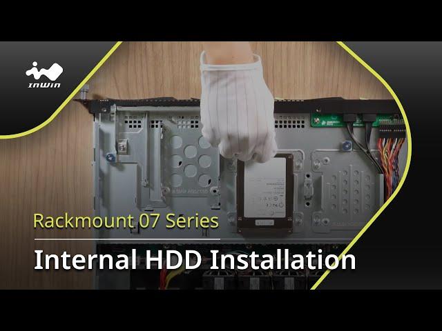 IW-RS104-07 Internal HDD Installation