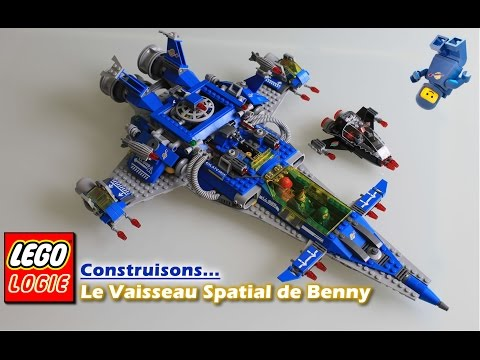 Vidéo LEGO The LEGO Movie 70816 : Le vaisseau spatial de Benny