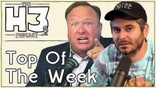 H3 Podcast #77 - Alex Jones Stream Shut Down