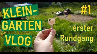 Kleingarten Vlog neuer Schrebergarten