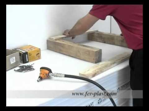 Chiodatrice PN50 per chiodi sfusi - Ferplast