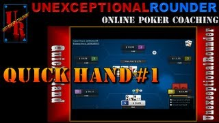 Texas Holdem Poker Online - Hand Review 25nl Heads Up Cash Hold Em - HU Online Poker Bovada