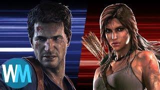 Video Game Showdown: Lara Croft vs Nathan Drake - dooclip.me