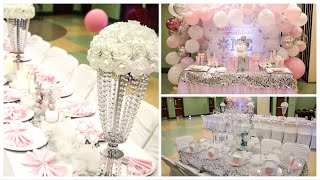 DIY Birthday Decorations Party Ideas | DIY Winter Wonderland
