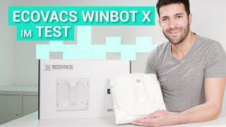 Der Ecovacs Winbot X im Test - Fenster wischen smart gemacht?