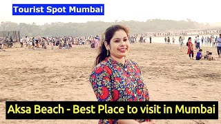 Aksa Beach - Best Places to visit in Mumbai || One day trip to Aksa Beach Malad