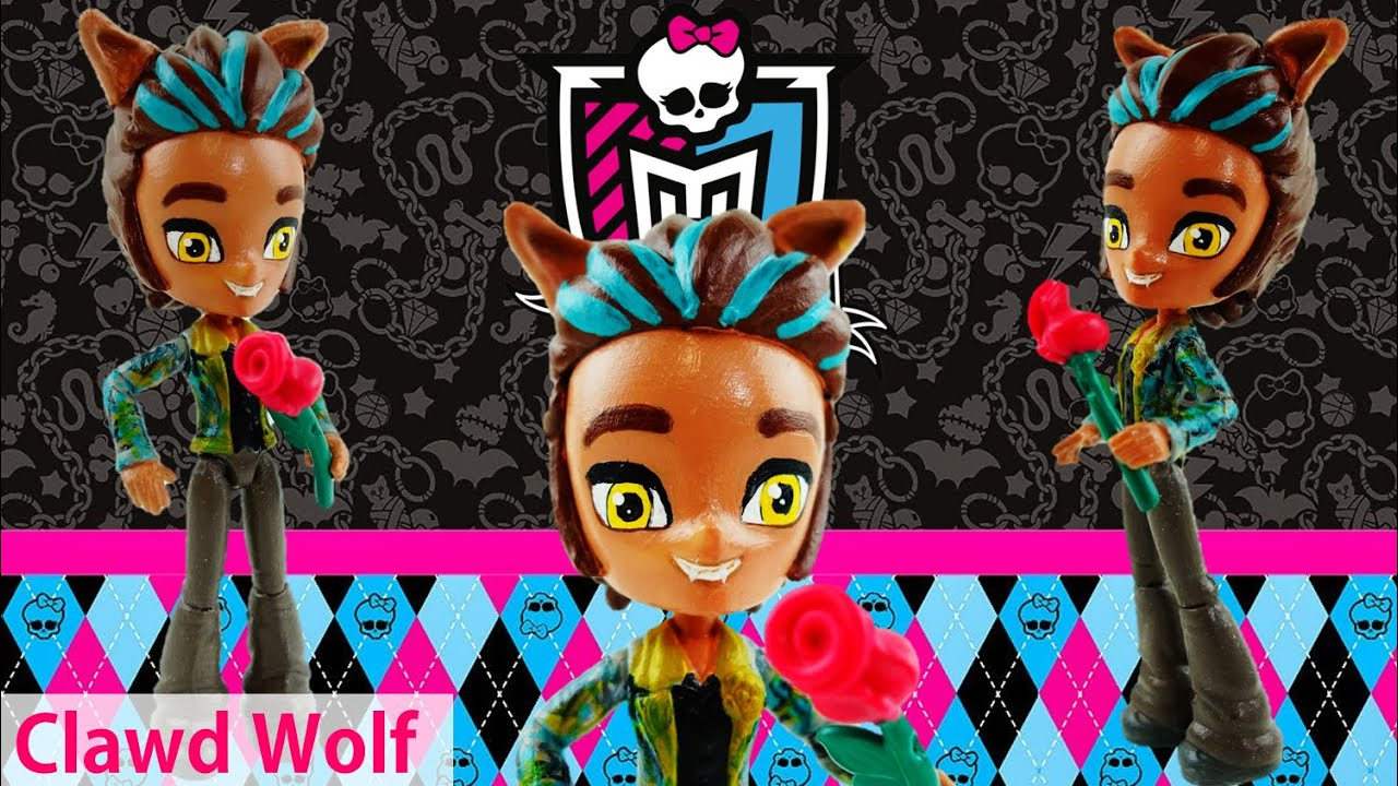 CLAWD WOLF New Custom Monster High Doll from MLP Equestria Girls mini Tutorial