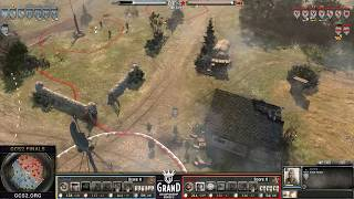 GCS2 Grand Final: Epic is an understatement. These players go to WAR! (Company of Heroes 2)