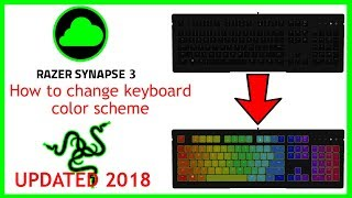 how to change the colour of your razer keyboard