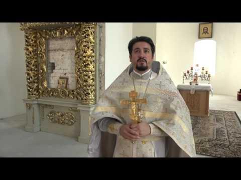 Проповедь в Преображенском храме на престольном празднике