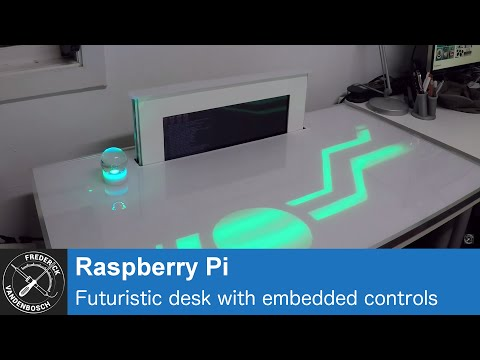 Use A Raspberry Pi To Create A Futuristic Desk