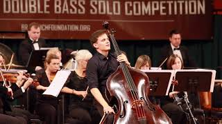 Dominik Wagner performs Andres Martin Concerto for Double Bass
