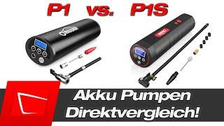 Die Oasser P1S ist richtig schnell! Oasser P1 Akkupumpe in stärkerer Version! Direktvergleich!