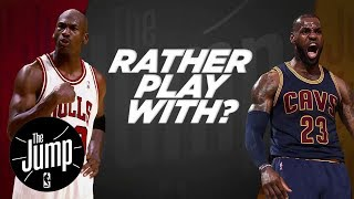 McGrady And Pierce Debate: LeBron Or MJ? | The Jump | ESPN