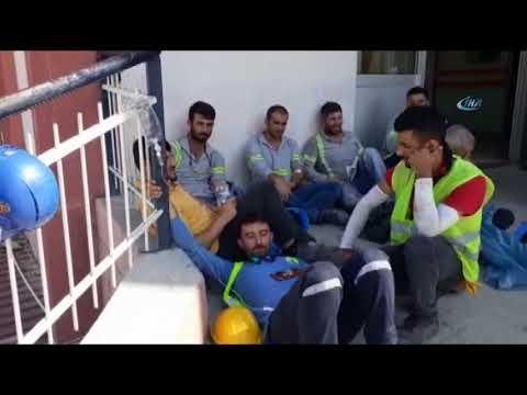 Rafineride gıda zehirlenmesi! 250 civarında işçi hastaneye kaldırıldı