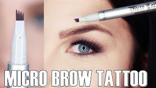 L'oréal - Micro Tattoo Brow Artist / LIVE TEST