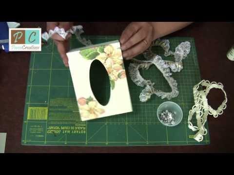 Decoupage y cartonaje, Cubierta de pañuelos