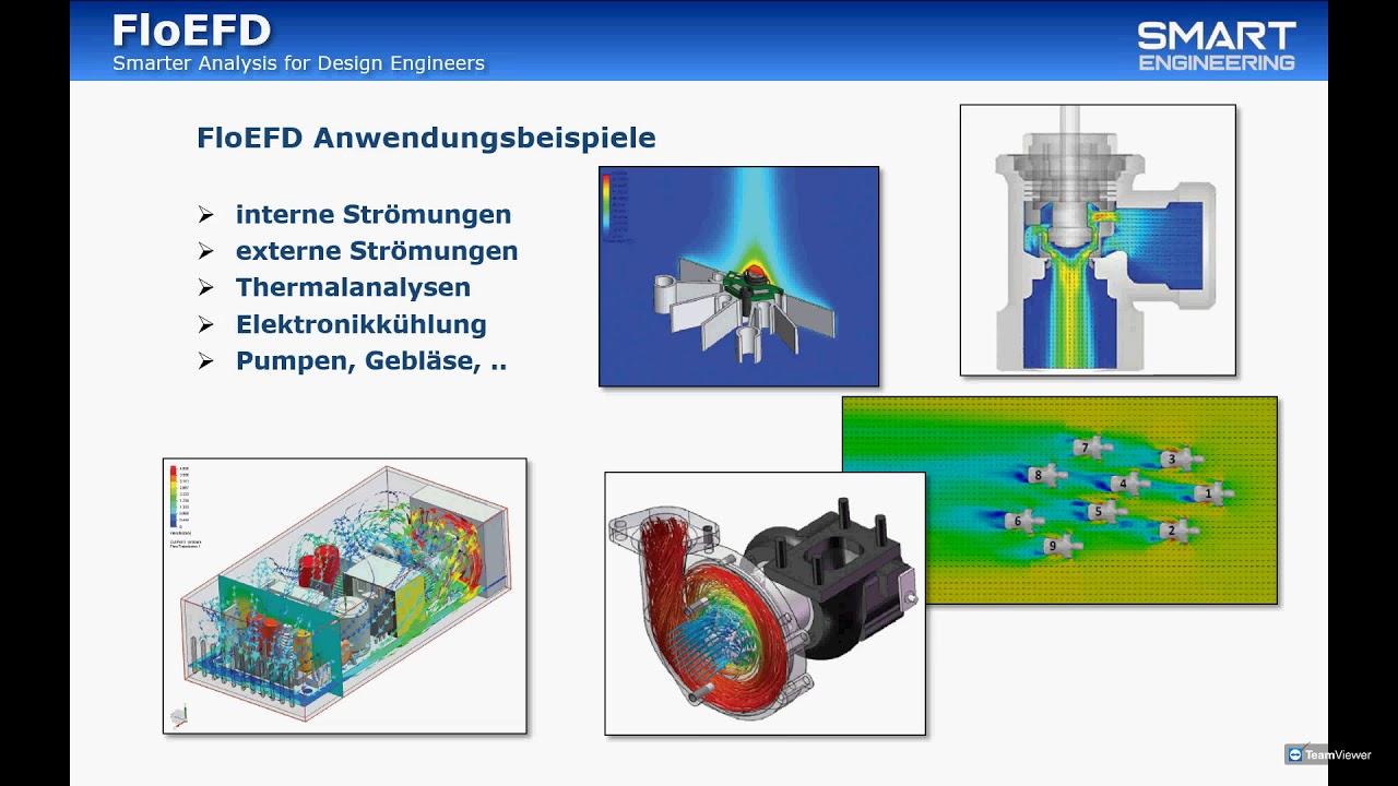 Vorschaubild: FloEFD: CFD-Analysen direkt im CAD-System